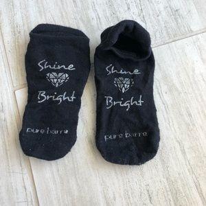 Shine Bright Pure Barre Socks